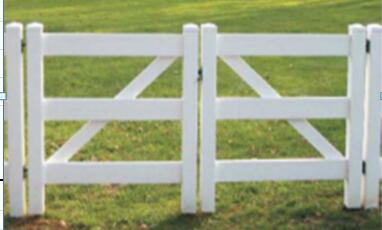 Gate for PVC fence 3r